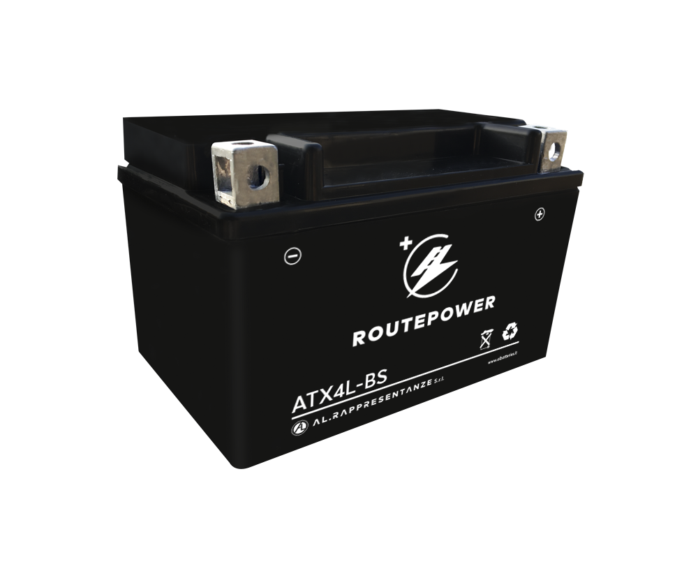 Routepower Batterie - Moto 4AH DRY
